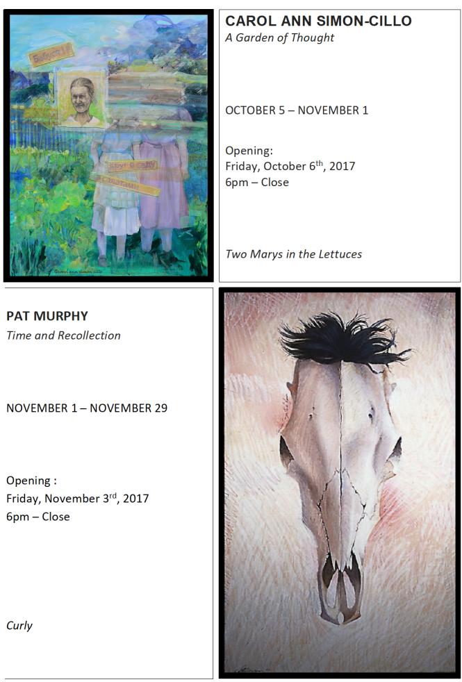 Gallery Schedule - Website